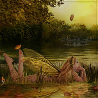 Melancholic Fall by Josiane-Rey