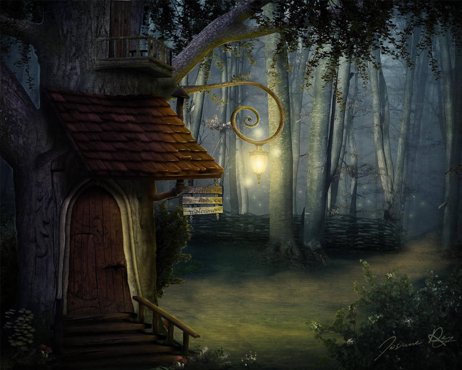 Fairies are Welcome by Josiane-Rey