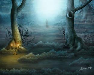 It's close to midnight by Josiane-Rey