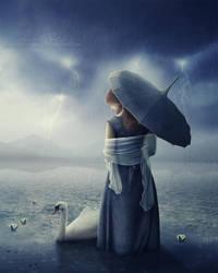 Swan Lake by Josiane-Rey