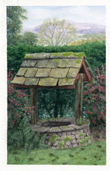 Old Well by littlesapphire
