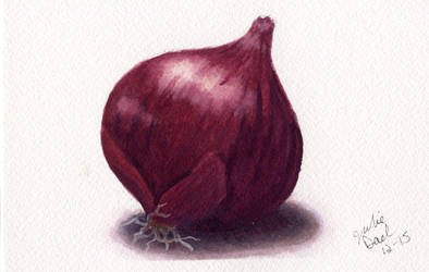 Red Onion by littlesapphire