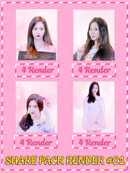 [SHARE] PACK RENDER YURA (GIRL'S DAY) #01 by thanhhai2000