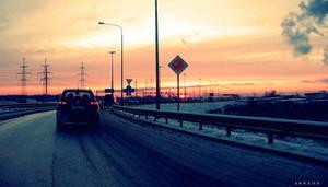 highway... by Arkana-Fox