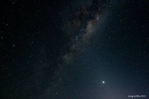 Venus and The Milky Way by CapturingTheNight