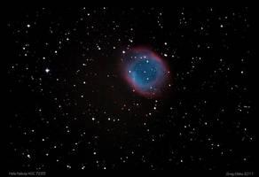 Helix Nebula by CapturingTheNight