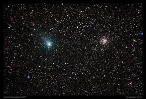 The Comet and the Cluster by CapturingTheNight