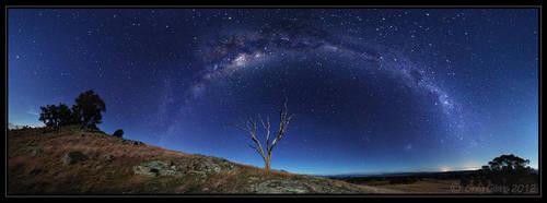 Milky Waybow by CapturingTheNight