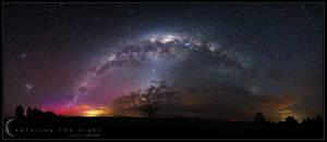 Midnight Rainbow by CapturingTheNight