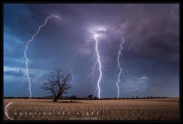 Harvest Sky by CapturingTheNight