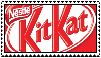 Kit Kat Stamp by SaintJoanofTheRoses