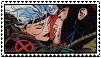 Gambit+Rogue Stamp by SaintJoanofTheRoses