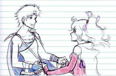 OTP Notebook Doodle 2 by SaintJoanofTheRoses