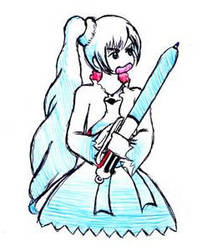 Weiss' Sword by SaintJoanofTheRoses