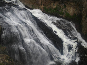 Yellowstone - Gibbon Falls by X-ample