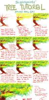 skippingmints' simple tree tutorial - SAI by skippingmints
