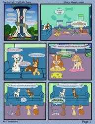 Paw Patrol Comic - Truth or Dare pg 1 by kreazea