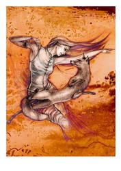kitsune by kirasanta