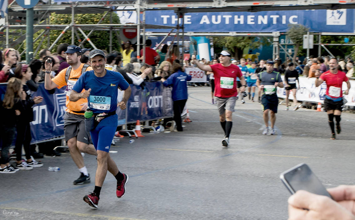 Athens Marathon the Authentic- The joy by ginavd