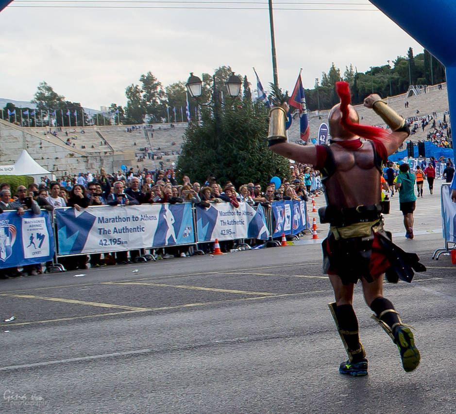 Athens Marathon the Authentic- 1 of 300 by ginavd