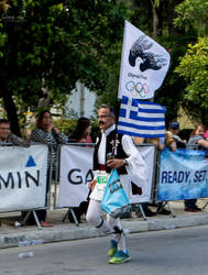 Athens Marathon the Authentic- The Olympic Truce by ginavd
