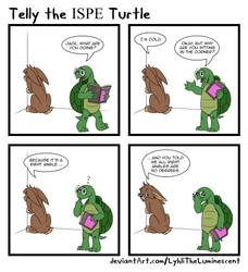 Telly the Turtle 2018-09 Ninety Degrees by LyhliTheLuminescent