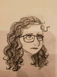 Self Portrait  by ScribbleSongs
