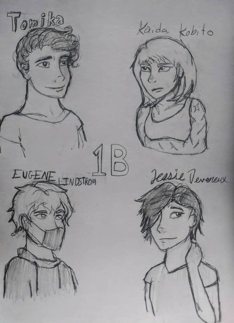 Class 1B of BROKEN by ScribbleSongs