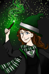 Slytherin by ScribbleSongs