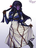 Sketch 338 - Alyx Quintessence by MinaCream