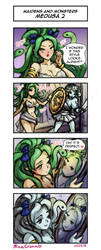Maidens and Monsters - Medusa 2 by MinaCream