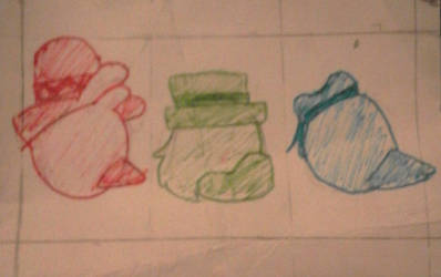 Doodle cause THE THREE CABALLEROS ARE COMING TO DT by TheFanGirl16