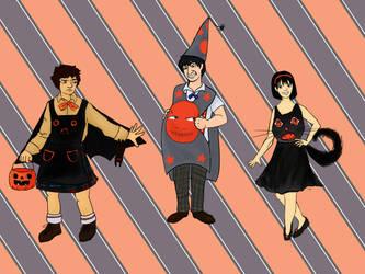 Team TARDIS 2.Halloween by lostthecreativity
