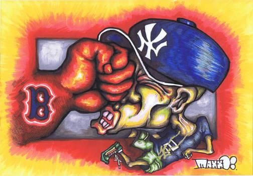Go Sox No. 2 by Madd2daMaxx