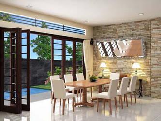 dining room by pekerjaseni