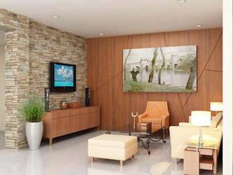 living room by pekerjaseni