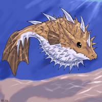 Puffer...Dragon? by Slifer