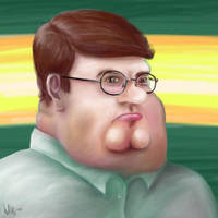 Peter Griffin by indecisivecharacter