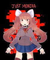 Just Monika. by pechhi