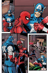 Coloring Practice: A. Spider Man Annual 37 Page 6 by Erlance