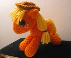 My Little Pony - Baby Applejack by kaerfel