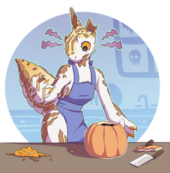 Week 1 - Pumpkin Carving Prompt by Elyssie