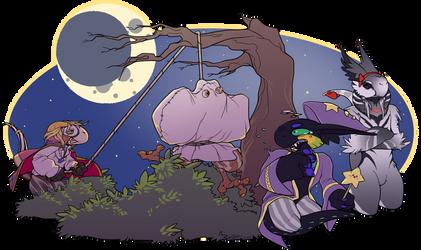 Week 3 - Spooky Time!!! Prompt by Elyssie