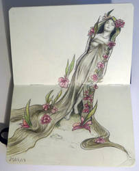 Sketchbook - Mucha inspiration :) by Alodix