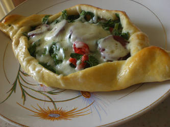 Turkish Spinach Pide by balacicek