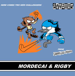 Cartoon Network - Mordecai and Rigby by TRC-Tooniversity