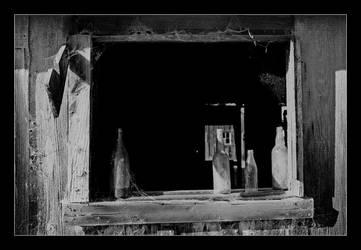 Windowsill Bottles by QuoiQueCeSoit