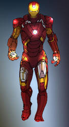 Iron Man! by carmorafael