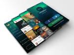 Modren Mobile App UI Kit by dxgraphic
