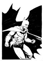 Commission - Batman by B3NN3TT